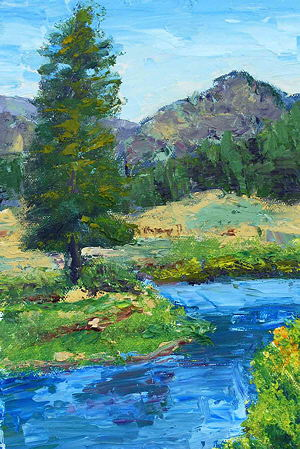 "Anne Danahy, ""Yellowstone Pine Lamar Valley"""