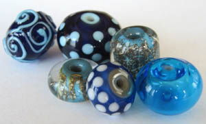 Ann Wilbert, hand blown glass beads