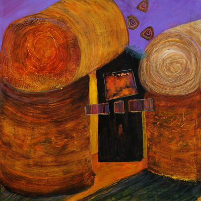 Mary Keefer - Straw Bale Home